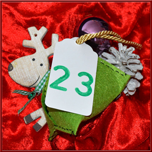 Adventskalender Stoff