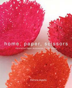 Bastelbuch home, paper, scissors